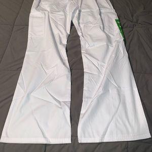 NWOT white scrub bottoms
